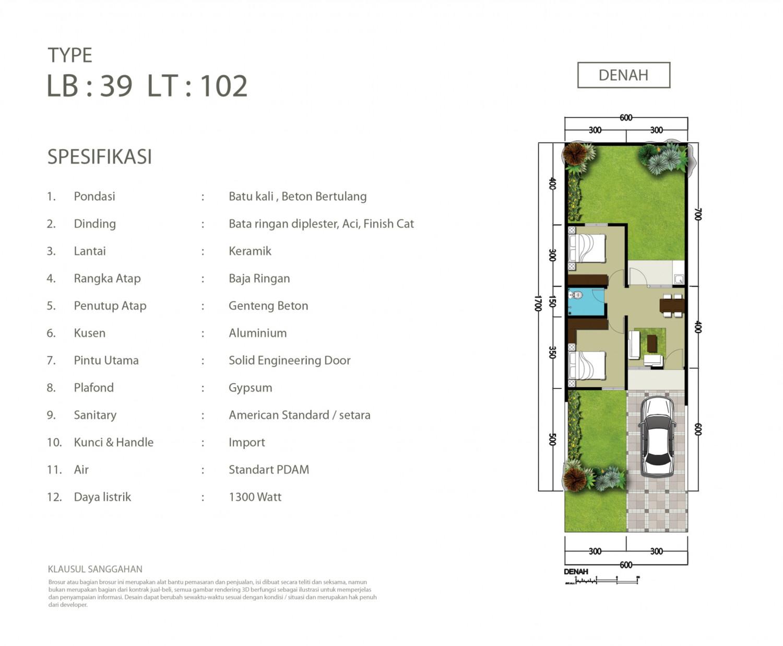 spesifikasi dan contoh denah rumah eksklusif dan strategis di parung panjang.jpg