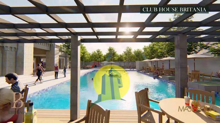 Kolam renang rumah minimalis modern Bekasi