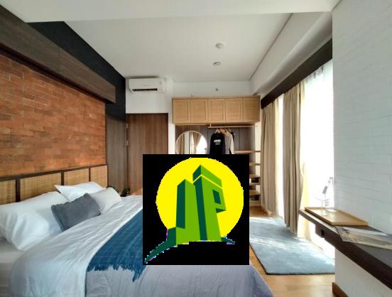 kamar tidur apartemen